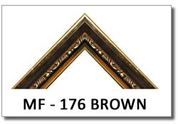 bingkai_pigura_frame_MF-176_BROWN_kecil_ukir