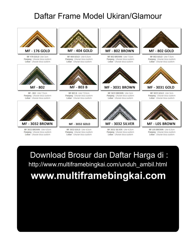 MultiFrame Bingkai Pigura Frame Paling Murah